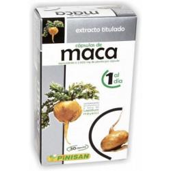 EXTRACTO TITULADO MACA 30 Cápsulas - Pinisan