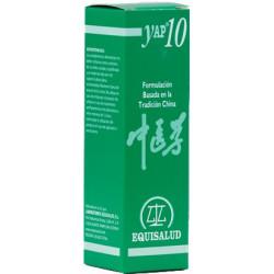YAP 10 31 ml Equisalud (Estancamiento de  QI de hígado - GAN QI YUE JI)
