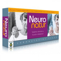 Neuronatur -40 cápsulas -Tegor