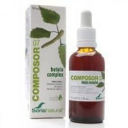 Composor 07 - Betula Complex - 50 ml - Soria Natural