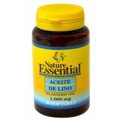 Aceite de Lino - 1000 mg - 30 cap - Nature  Essential