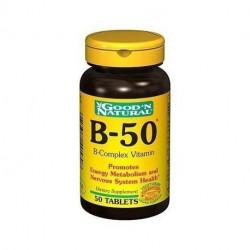 Vitamina B-50 - Super B complex - Good 'n Natural