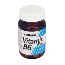Vitamina B6 - 50 mg - 100 comp - Health Aid