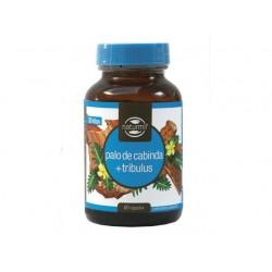 Palo de Cabinda + Tribulus - 720 mg - 60 cap - Naturmil
