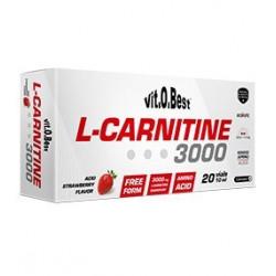 L-Carnitine 3000 ( 20 VIALES ) VIT-O-BEST