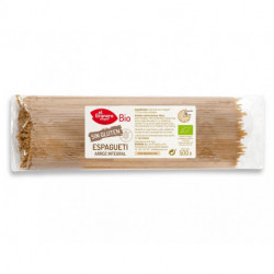 Espaguetis de Arroz Integral sin Gluten Bio, 500 g ( EL GRANERO )