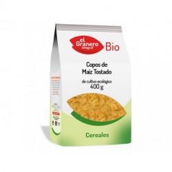 Copos de Maíz Tostado Bio, 400 g ( EL GRANERO )