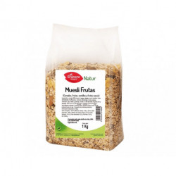 Muesli Frutas, 1 Kg ( EL GRANERO )