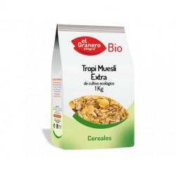 Tropi Muesli Extra Bio, 1 Kg ( EL GRANERO )