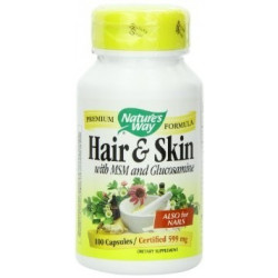 Hair & Skin - 100 cap - Nature´s Way