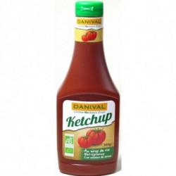 Ketchup con azúcar de caña ( Danival ) 560 g