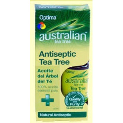 Aceite del Árbol del Té - Antiseptic Tea Tree - Optima - 25 ml