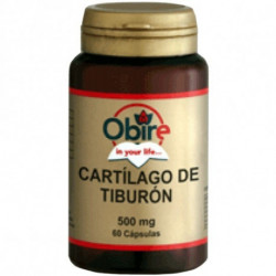 Cartilago de Tiburón - 60 cap - Obire