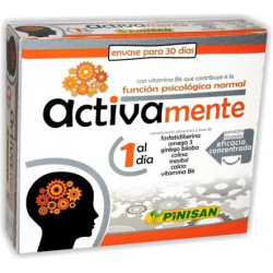 ACTIVAMENTE 30 Cápsulas - Pinisan
