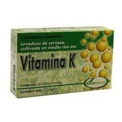 Vitamina K - 64 comp - Soria Natural