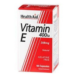 Vitamin E - 268mg -60 cap -Health Aid
