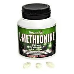 L-Methionine - 550 mg - 60 cap - Health Aid