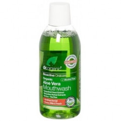 Dr Organic Aloe Vera Mouthwash - Enjuegue Bucal 500 ml