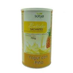 BATIDO SACIANTE- SOTYA - yogur y piña 700gr.