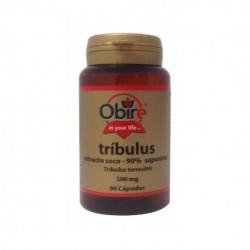 Tribulus Terrestris - 90% Saponinas - 500 mg - 90 cap - Obire