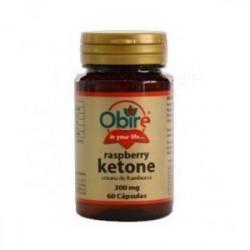 Cetonas de Frambuesa (Raspberry ketone) - 300 mg - 60 cap - Obire