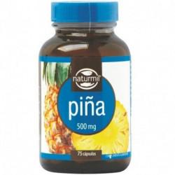 Piña - 500 mg - 75 cap - Naturmil