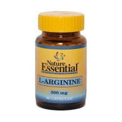 L-ARGININE ( NATURE ESSENTIAL) 500MG 50 CAPSULAS
