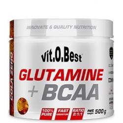 GLUTAMINE + BCAA ( 500GR ) VIT.O.BEST