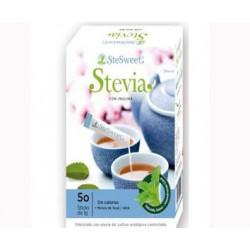 STEVIA con inulina 50 sticks ( SteSweet )