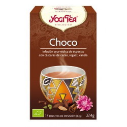 TE CHOCO ( YOGI TEA ) BIOLOGICO 17 BOLSITAS 1.8g