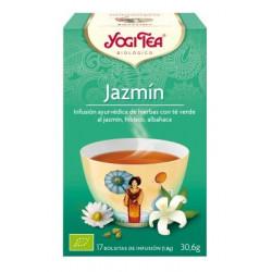 TE JAZMIN ( YOGI TEA ) BIOLOGICO 17 BOLSITAS 1.8g