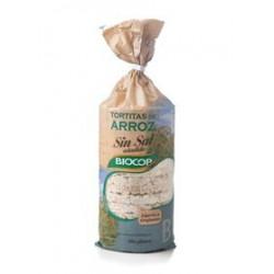 TORTITAS DE ARROZ ( SIN SAL ) BIOCOP ( SIN GLUTEN ) 15 TORTITAS APROXIMADAMENTE.