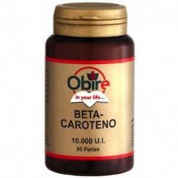 Betacaroteno - 10.000 UI - 90 Perlas - Obire