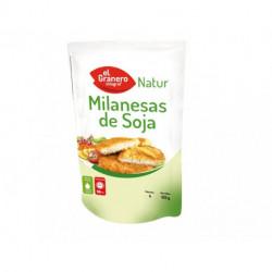 MILANESAS DE SOJA 125 gr ( EL GRANERO ) 100% VEGETAL.