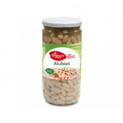 Alubias Blancas Cocidas Bio, 660 g ( EL GRANERO )