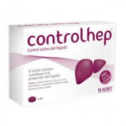 Controlhep  Eladiet  60 comprimidos