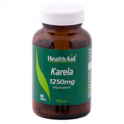 Health Aid Melon amargo karela 1250 mg 60 comprimidos