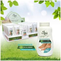 Desodorante Polvo de Alumbre -( S&S)- 100 gr