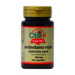 Arándano Rojo - 60 cap - Obire