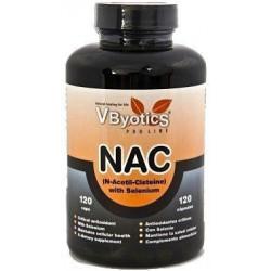 Vbyotics NAC con Selenio y Quercitina 120 cápsulas